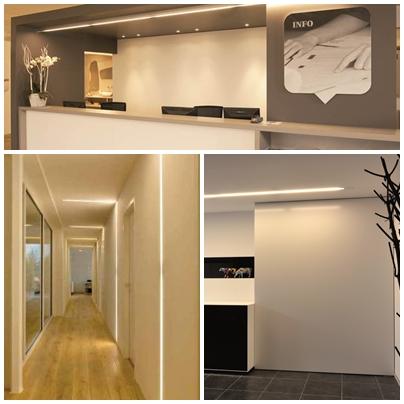 Iluminacion de pasilos de hoteles avanluce - Iluminacion led para interiores ...