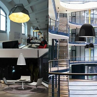 iluminacion para oficinas estilo industrial avanluce