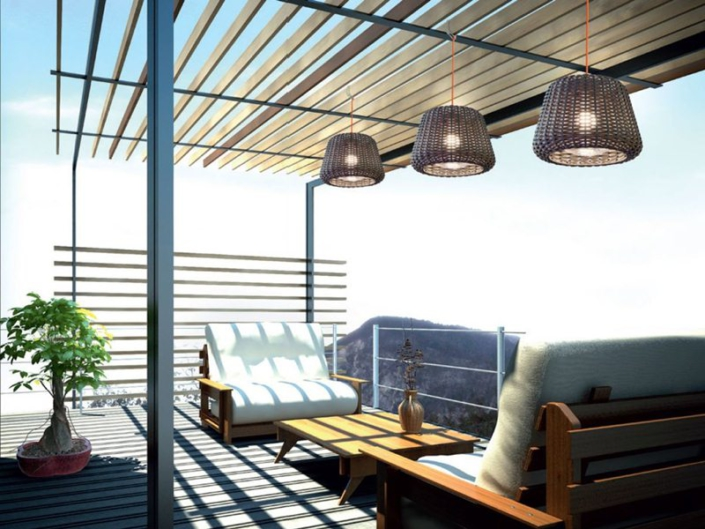 Iluminación exterior casas y terrazas - Ralph Panzeri