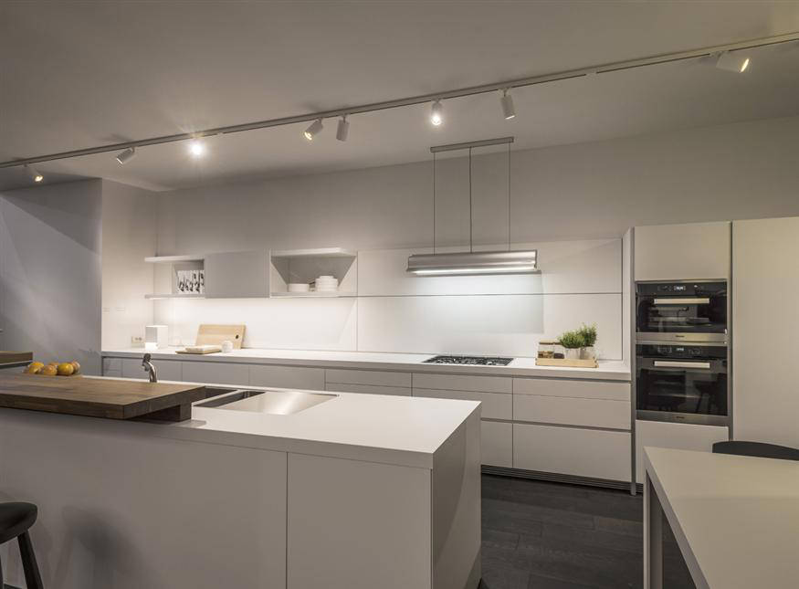 iluminacion moderna de cocinas