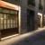 iluminacion fachada entrada restaurante