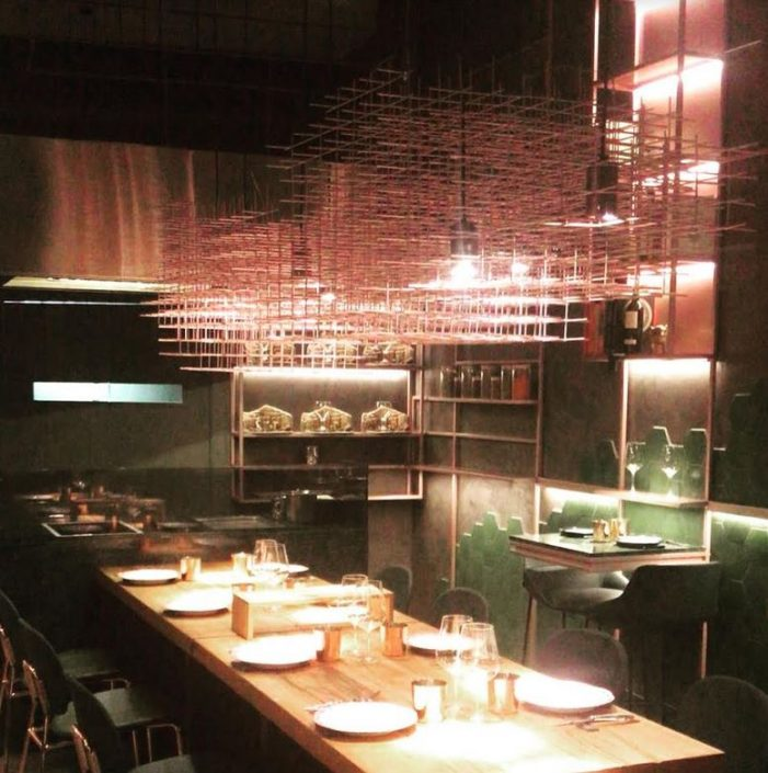 iluminacion moderna de restaurantes