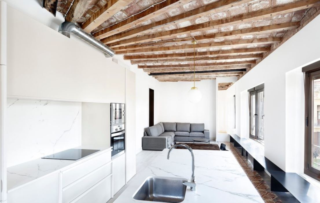 iluminacion pisos barcelona