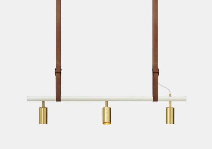lampara de techo, lampara suspendida long john 3 pendant rubn lighting