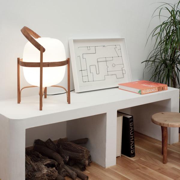 lampara de mesa cesta, lampara exterior cesta, lampara cesta santa & cole, comprar online lamparas de mesa, tienda online lamparas de mesa
