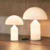 lamparas de mesa, lampara de mesa atollo oluce