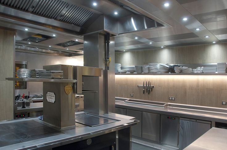 iluminacion cocina restaurante, Avanluce. Taverna del Clinic