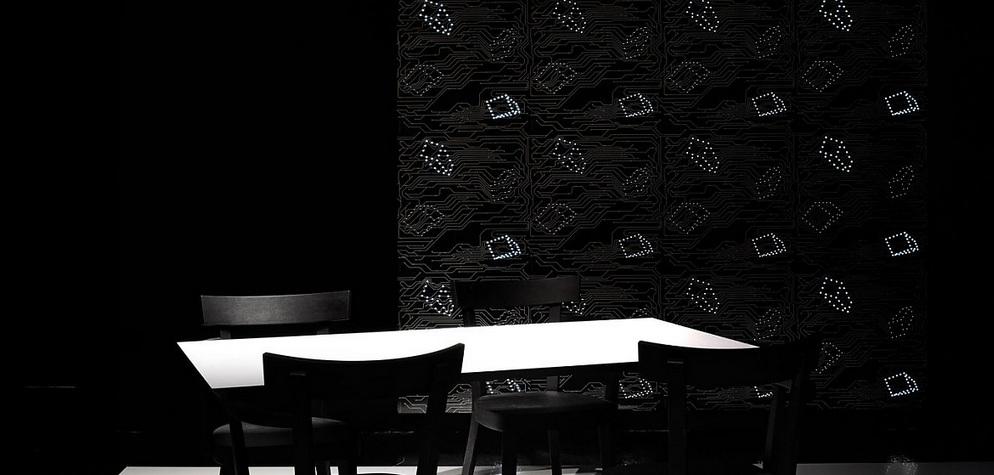 mejores marcas de iluminacion, ingo maurer led wall paper